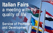 Italian Fairs, a meeting with the quality of life. Service of promotion and development